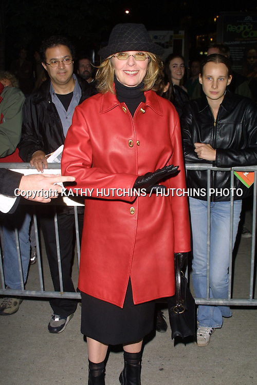 "©2003 ARIEL RAMEREZ / HUTCHINS PHOTO.41st New York Film Festival - ""Elephant"" - Screening.October 10, 2003 - Alice Tully Hall, Lincoln Center.New York City, New York United States..DIANE KEATON"