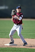 January 16, 2010:  Cole Hamilton (Portland, OR) of the Baseball Factory North Team during the 2010 Under Armour Pre-Season All-America Tournament at Kino Sports Complex in Tucson, AZ.  Photo By Mike Janes/Four Seam Images