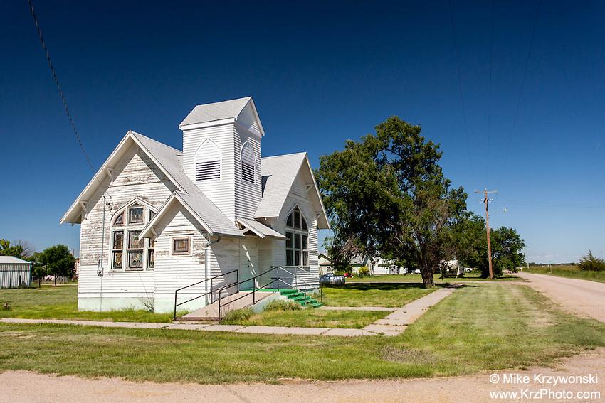 Old church in McGrew, NE