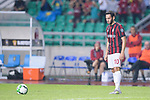 AC Milan Midfielder Hakan Calhanoglu in action during the International Champions Cup 2017 match between AC Milan vs Borussia Dortmund at University Town Sports Centre Stadium on July 18, 2017 in Guangzhou, China. Photo by Marcio Rodrigo Machado / Power Sport Images