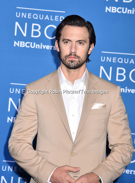 Milo Ventimiglia attends the NBCUNIVERSAL 2017 UPFRONT on May 15, 2017 at Radio City Music Hall in New York, New York, USA.<br /> <br /> photo by Robin Platzer/Twin Images<br />  <br /> phone number 212-935-0770