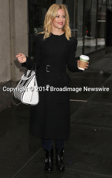 Pictured: Elizabeth Banks<br /> Mandatory Credit &copy; DDNY/Broadimage <br /> Elizabeth Banks at today show in New York City<br /> <br /> 2/5/14, New York, New York, United States of America<br /> <br /> Broadimage Newswire<br /> Los Angeles 1+  (310) 301-1027<br /> New York      1+  (646) 827-9134<br /> sales@broadimage.com<br /> http://www.broadimage.com
