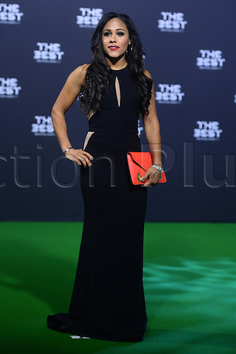 09.01.2017. Zurich, Switzerland.  English player Alex Scott arrives at the FIFA World Players of the Year 2016 gala in Zurich, Switzerland, 9 January 2017.