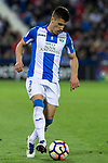 Unai Bustinza of Club Deportivo Leganes during the match of  La Liga between Club Deportivo Leganes and Real Madrid at Butarque Stadium  in Leganes, Spain. April 05, 2017. (ALTERPHOTOS / Rodrigo Jimenez)