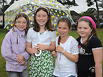 Ardee children Evelyn Quinn, Erin Shevlin, Tamara Crawley and Sophie Kerr pictured at Fairgreen in Ardee enjoying the Turfman festival. Photo: www.colinbellphotos.com