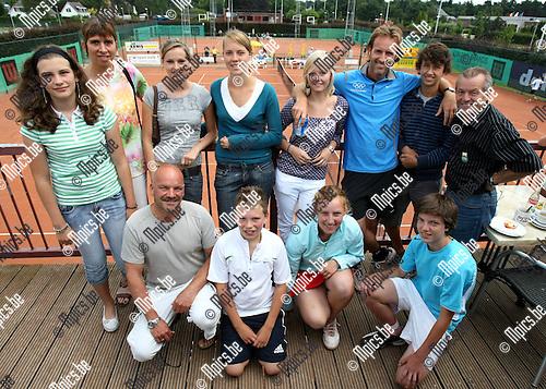 2008-08-03 / Tennis / TC De Dageraad..Foto: Maarten Straetemans (SMB)