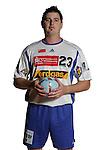 Handball Bundesliga 2005/2006 Autogrammkarten Concordia Delitzsch Alexander PIETZSCH (Concordia) Autogrammkarte, Portrait, Ball, Studio, Freisteller.