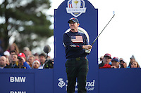 Jimmy Walker (USA) during the Saturday morning Fourballs of the 2014 Ryder Cup at Gleneagles. The 40th Ryder Cup is being played over the PGA Centenary Course at The Gleneagles Hotel, Perthshire from 26th to 28th September 2014.: Picture David lloyd, www.golffile.ie: \27/09/2014\