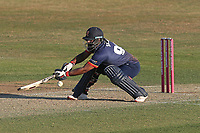 Ashar Zaidi of Essex in batting action during Essex Eagles vs Premier Leagues XI, Friendly Match Cricket at The Cloudfm County Ground on 2nd July 2018