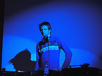Phil Meadley.<br /> DJ, music writer, compiler and producer. <br /> Club Diaspora at the DRUM Cultural Centre, Birmingham, England, March 2005