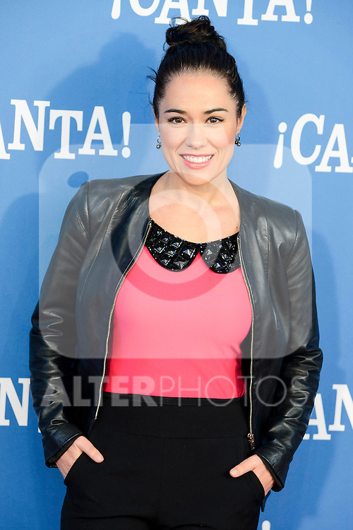 "Eva Marciel attends to the premiere of the film ""¡Canta!"" at Cines Capitol in Madrid, Spain. December 18, 2016. (ALTERPHOTOS/BorjaB.Hojas)"