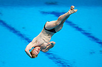 Picture by Rogan Thomson/SWpix.com - 16/07/2017 - Diving - Fina World Championships 2017 -  Duna Arena, Budapest, Hungary - James Heatly of Great Britain in action in the Men's 1m Springboard Final.