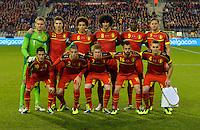 Formazione Belgio <br /> Bruxelles 14-11-2013 <br /> Football Calcio 2013/2014 Friendly Match. Belgio - Colombia <br /> Foto PHOTO NEWS / PANORAMIC / Insidefoto