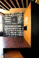 modern wall bookcase