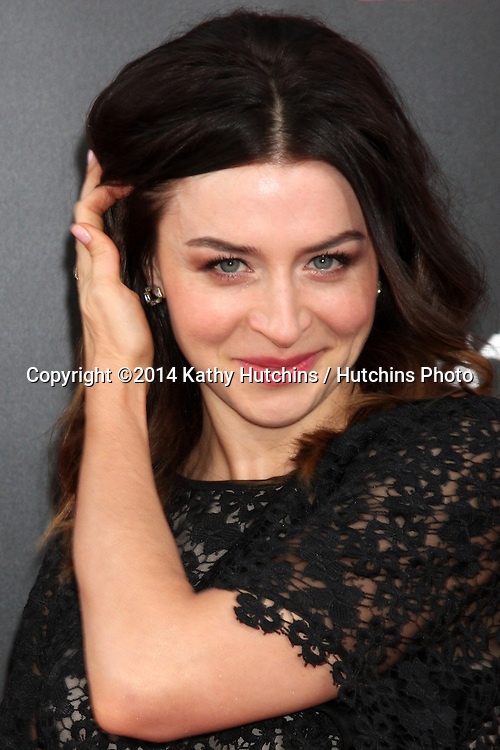 """LOS ANGELES - AUG 13:  Caterina Scorsone at """"The November Man"""" Premiere at TCL Chinese Theater on August 13, 2014 in Los Angeles, CA"""
