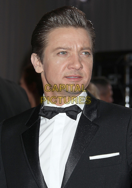 Jeremy Renner.85th Annual Academy Awards held at the Dolby Theatre at Hollywood & Highland Center, Hollywood, California, USA..February 24th, 2013.oscars headshot portrait black tuxedo white shirt bow tie stubble facial hair   .CAP/ADM/RE.©Russ Elliot/AdMedia/Capital Pictures.