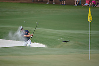 Adam Scott (AUS) hits from the trap on 11 during round 3 of The Players Championship, TPC Sawgrass, at Ponte Vedra, Florida, USA. 5/12/2018.<br /> Picture: Golffile | Ken Murray<br /> <br /> <br /> All photo usage must carry mandatory copyright credit (&copy; Golffile | Ken Murray)