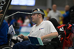 Jamie McCowan (GB)<br /> BISFed 2018 World Boccia Championships <br /> Exhibition Centre Liverpool<br /> 12.08.18<br /> &copy;Steve Pope<br /> Sportingwales