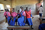 This is the camp school. The graffiti on the walls read &quot;Manchester United&quot; and &quot;Ronaldo&quot;. These children have the same interests and the same dreams as children all over the world. They have the same potential. They just don't have the same chances. <br />