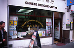 AWFP7D Chinese medical centre Soho London England