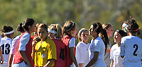 Day 6 - Vic V NSW - U14 Girls - NJC 2009