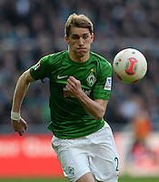 FUSSBALL   1. BUNDESLIGA   SAISON 2012/2013    30. SPIELTAG SV Werder Bremen - VfL Wolfsburg                          20.04.2013 Nils Petersen (SV Werder Bremen)