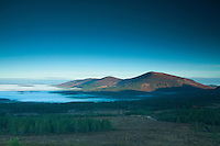 Meall a Bhuachaille at dawn from Cairngorm, Cairngorm National Park