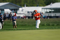 Jason Day (AUS) on the 16th during the 2nd round at the PGA Championship 2019, Beth Page Black, New York, USA. 17/05/2019.<br /> Picture Fran Caffrey / Golffile.ie<br /> <br /> All photo usage must carry mandatory copyright credit (&copy; Golffile | Fran Caffrey)