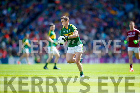 Stephen O'Brien Kerry in action against  Galway in the All Ireland Senior Football Quarter Final at Croke Park on Sunday.