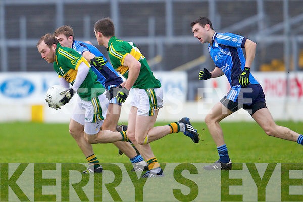 Darren O'Sullivan Kerry in action against the IT Tralee in the preliminary round of the McGrath Cup at Fitzgerald Stadium on Saturday.