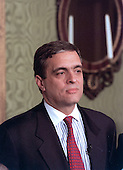 George J. Tenet is named by United States President Bill Clinton names to be Director of the Central Intelligence Agency (CIA) after Anthony Lake withdrew his name from consideration in Washington, DC on March 19, 1997. <br /> Credit: Richard Ellis - Pool via CNP