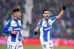 CD Leganes's  Oscar Rodriguez Arnaiz (L) and Jose Luis Garcia Recio during La Liga match 2019/2020 round 16<br /> December 8, 2019. <br /> (ALTERPHOTOS/David Jar)