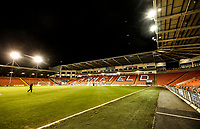 Bloomfield Road<br /> <br /> Photographer Rachel Holborn/CameraSport<br /> <br /> The EFL Checkatrade Trophy Group C - Blackpool v Accrington Stanley - Tuesday 13th November 2018 - Bloomfield Road - Blackpool<br />  <br /> World Copyright © 2018 CameraSport. All rights reserved. 43 Linden Ave. Countesthorpe. Leicester. England. LE8 5PG - Tel: +44 (0) 116 277 4147 - admin@camerasport.com - www.camerasport.com