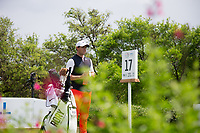 Rory McIlroy (NIR) on the 17th during the 3rd round at the WGC Dell Technologies Matchplay championship, Austin Country Club, Austin, Texas, USA. 24/03/2017.<br /> Picture: Golffile | Fran Caffrey<br /> <br /> <br /> All photo usage must carry mandatory copyright credit (&copy; Golffile | Fran Caffrey)