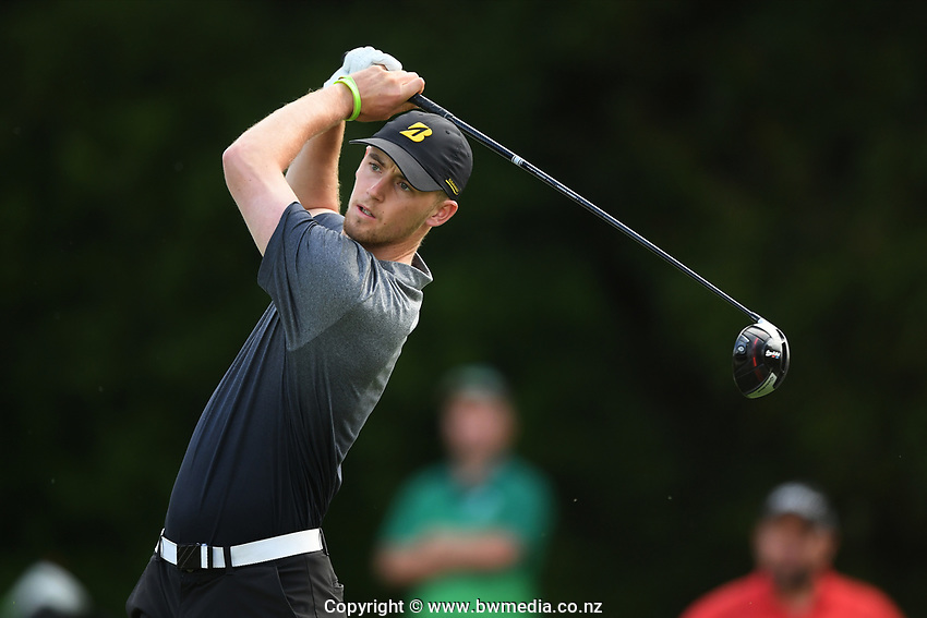 Sam Jones, Taranaki, 2019 New Zealand Men's Interprovincials, Hastings Golf Club, Hawke's Bay, New Zealand, Tuesday 26th November, 2019. Photo: Kerry Marshall/www.bwmedia.co.nz