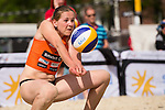 08.05.2015, Muenster, Schlossplatz<br /> smart beach tour, Supercup M&uuml;nster / Muenster, Qualifikation<br /> <br /> Annahme Anne Matthes <br /> <br />   Foto &copy; nordphoto / Kurth