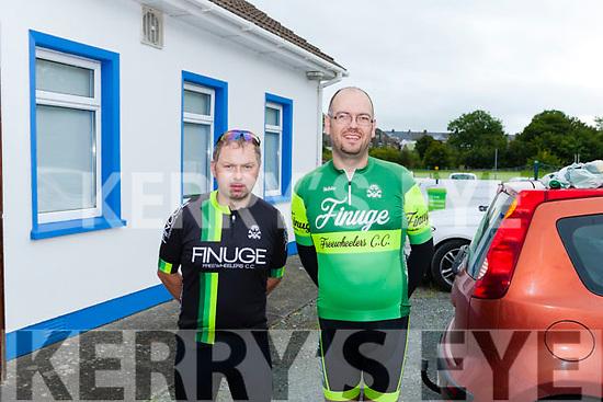 "Finuge Freewheelers Pat Joe O' Sullivan &  Brendan O' Regan  Abbeyfeale Cycling Club held their annual 60K & 110K ""Abbey Classic Charity Cycle""  last Sunday"
