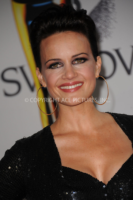 WWW.ACEPIXS.COM . . . . . .June 6, 2011...New York City.....Carla Gugino attends the 2011 CFDA Fashion Awards at Alice Tully Hall, Lincoln Center on June 6, 2011 in New York City......Please byline: KRISTIN CALLAHAN - ACEPIXS.COM.. . . . . . ..Ace Pictures, Inc: ..tel: (212) 243 8787 or (646) 769 0430..e-mail: info@acepixs.com..web: http://www.acepixs.com .
