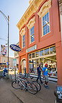 Square Books is a popular gathering place on the Oxford Square. Photo by Robert Jordan/Ole Miss Communications