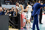 Real Madrid Felipe Reyes and Facundo Campazzo during Turkish Airlines Euroleague match between Real Madrid and CSKA Moscow at Wizink Center in Madrid, Spain. November 29, 2018. (ALTERPHOTOS/Borja B.Hojas)