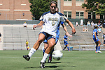 28 August 2011: Notre Dame's Lauren Bohaboy. The Duke University Blue Devils defeated the Fighting Irish of Notre Dame 3-1 at Fetzer Field in Chapel Hill, North Carolina in an NCAA Women's Soccer game.
