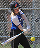 Meghan Vecchione #6, Calhoun pitcher, pulls a ball that resulted in two runs scored after a Baldwin error in the bottom of the first inning in a Nassau AA-I/AA-II crossover game at Calhoun High School on Saturday. April 14, 2018. She tossed a shutout struck out 15 batters in Calhoun's 9-0 win.