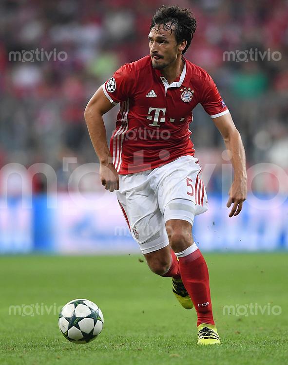 FUSSBALL CHAMPIONS LEAGUE SAISON 2016/2017 GRUPPENPHASE FC Bayern Muenchen  - FK Rostow              13.09.2016 Mats Hummels (FC Bayern Muenchen)