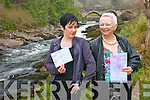 The fashion event of the year takes place at Sheen Falls in Kenmare this Friday night with Ireland's top fashion designer and local boutiques showcasing the latest collections. <br /> L- R Irene Carey and Lynne Brennan.