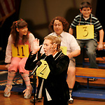 Julie Andrews joins the gang at THE 25th ANNUAL PUTNAM COUNTY SPELLING BEE on stage as guest spellers at The Circle In The Square Theatre in New York City.<br />