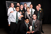 Team of the Year winners Pukekohe  Metro Cricket Senior Courier editor Judith Tucker. Counties Manukau Sport  Sporting Excellence Awards held at TelstraClear Pacific Events Centre, Manukau City, on December 10th, 2009.