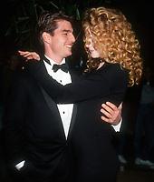 Tom Cruise, Nicole Kidman, 1992, Photo By Michael Ferguson/PHOTOlink
