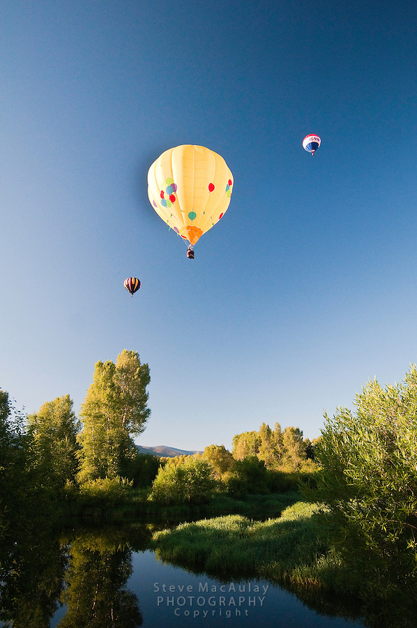 Hot Air Ballon Rally, Steamboat Springs, Colorado