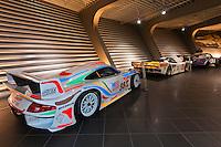 Auto museum, Porsche Leipzig, Leipzig, Saxony, Germany
