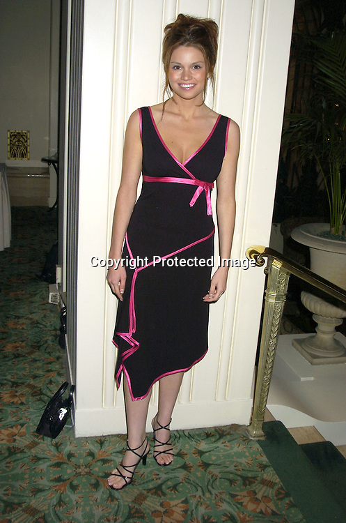 Mandy Bruno ..at An Evening with Daytime Stars benefitting HJD Multiple ..Sclerosis Care Center of Greater New York on May 19, 2005 at The Waldorf Astoria Hotel. The Evening was hosted by Ricky Paull Goldin. ..Photo byRobin Platzer, Twin Images